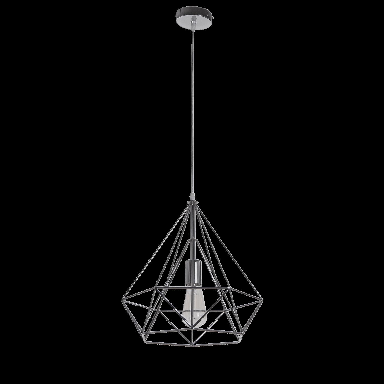 Hanglamp Scandinavian 35 cm nickel satin