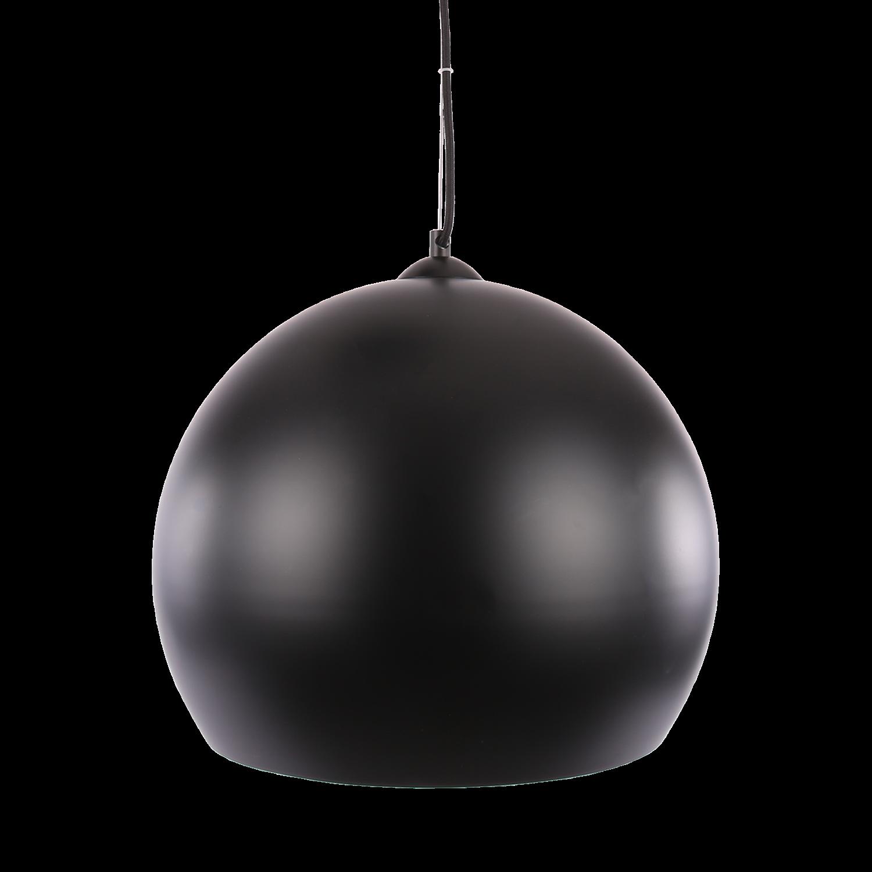 Hanglamp Axel ball Ø40 cm mat zwart