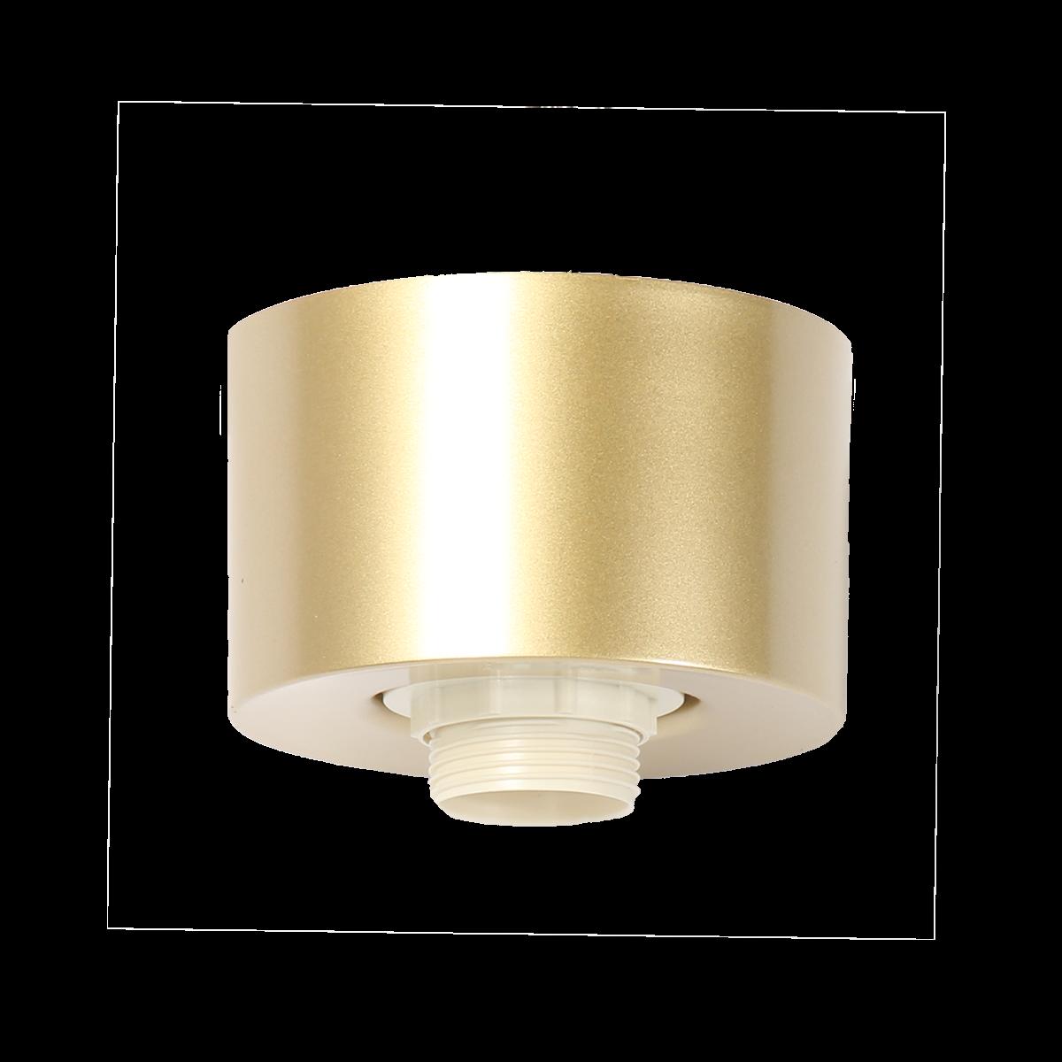 Plafondlamp Ponti goud