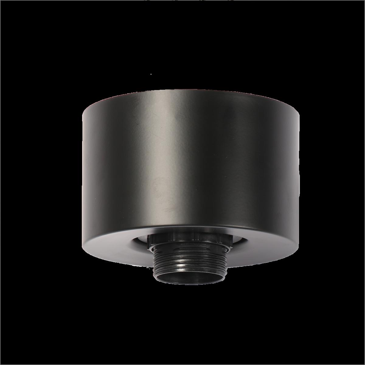 Plafondlamp Ponti zwart