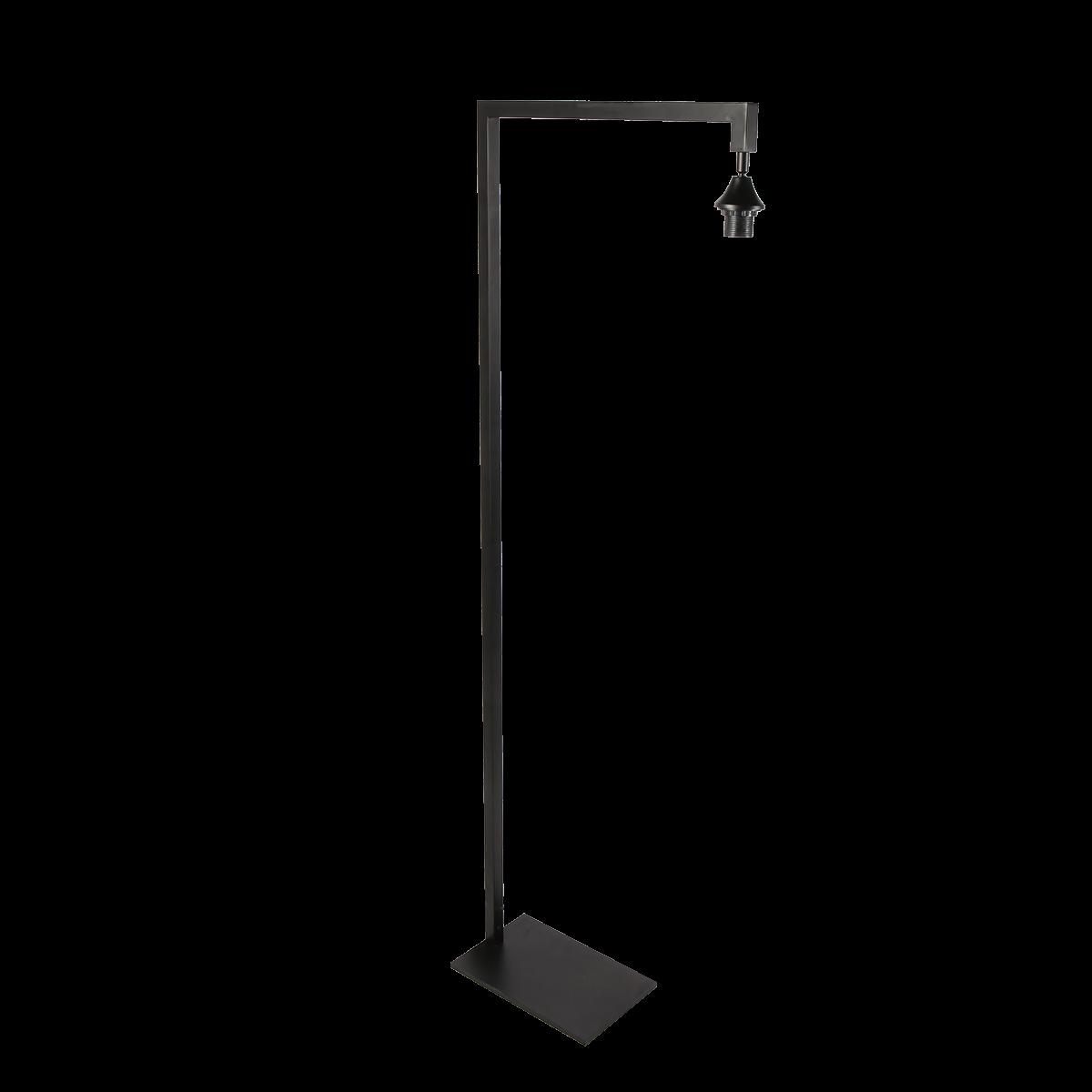 Vloerlamp Caro 1 lichts zwart