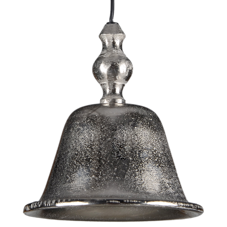 Hanglamp Agnese ruw nickel