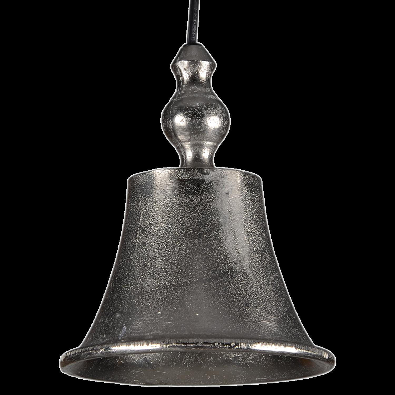 Hanglamp Almona ruw nickel