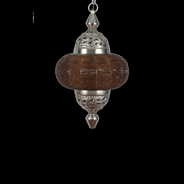 Hanglamp Arabesque klein donkerbruin