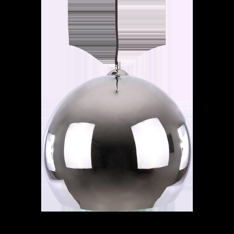 Hanglamp Axel ball Ø30 cm glans chroom