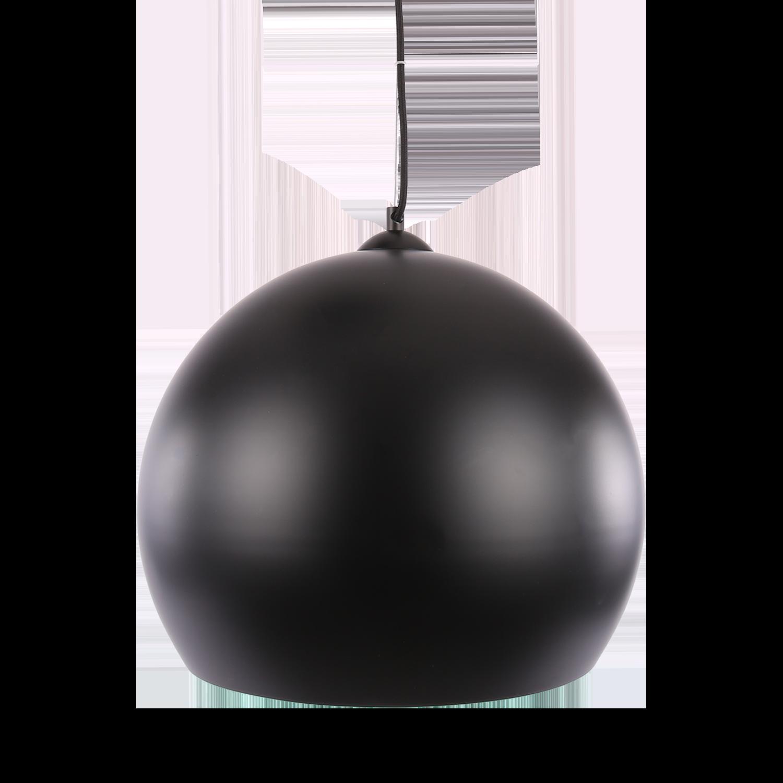 Hanglamp Axel ball Ø30 cm mat zwart