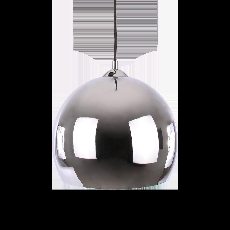 Hanglamp Axel ball Ø40 cm glans chroom