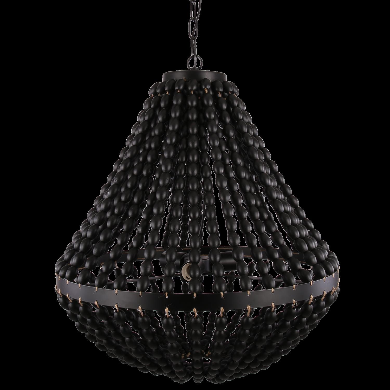 Hanglamp Casimira 60 cm zwart