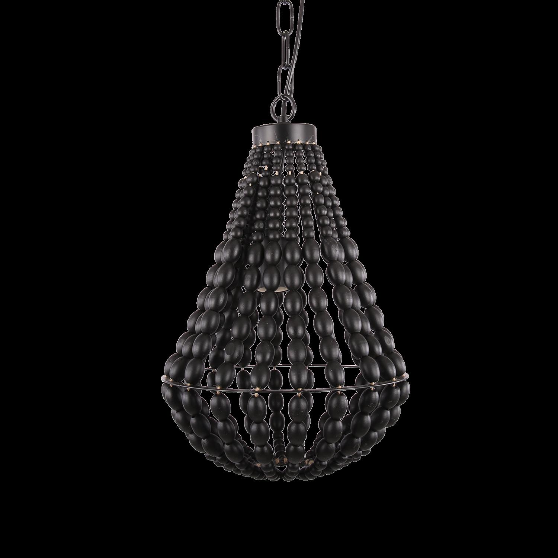 Hanglamp Danilo 30 cm zwart
