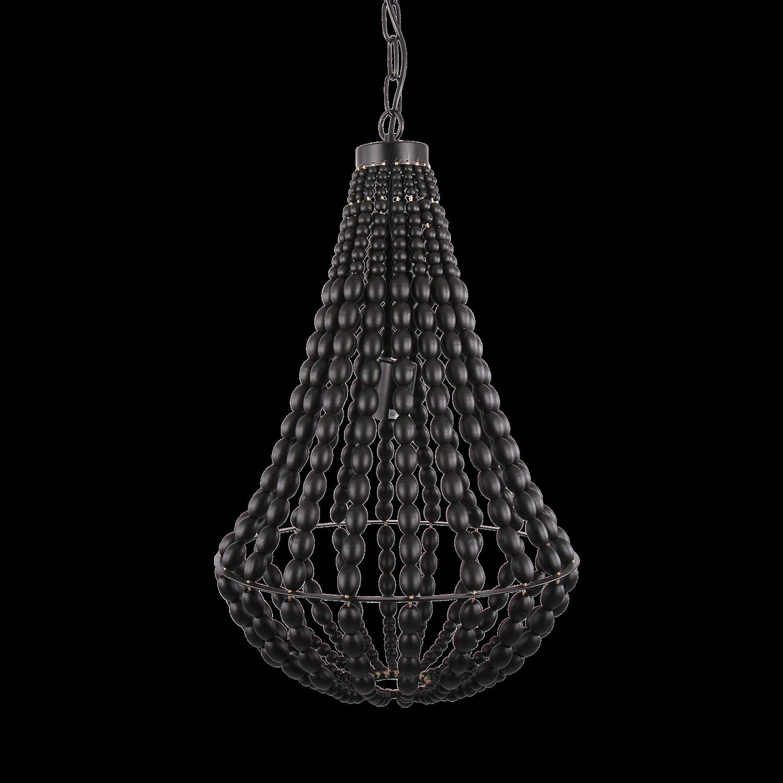 Hanglamp Danilo 40 cm zwart