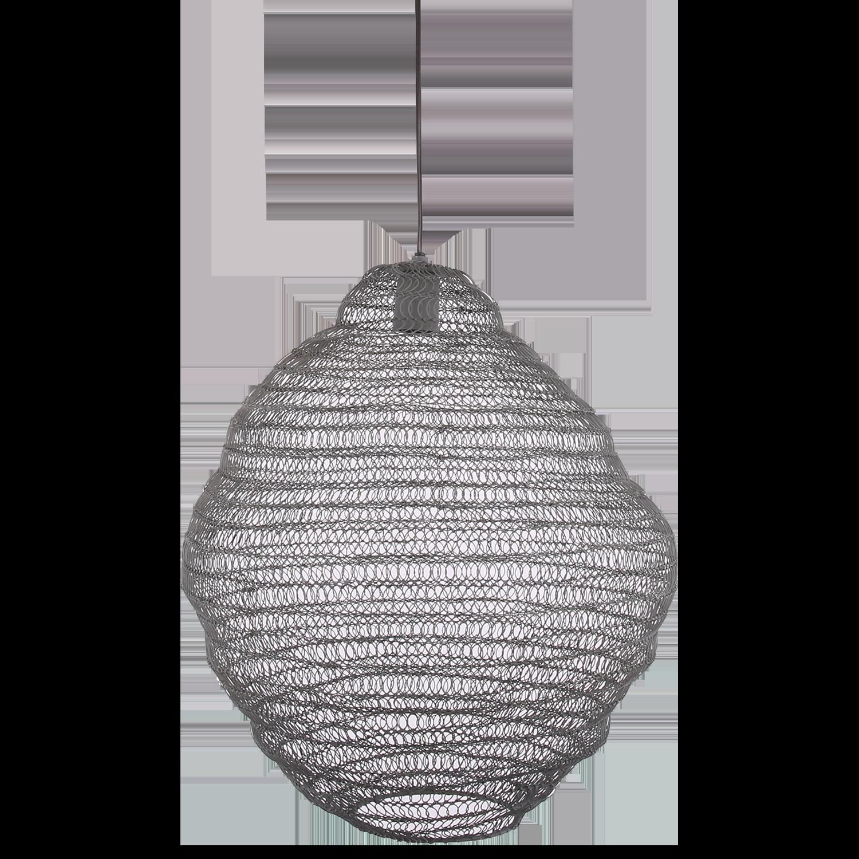 Hanglamp Floriano groot 31362 grijs