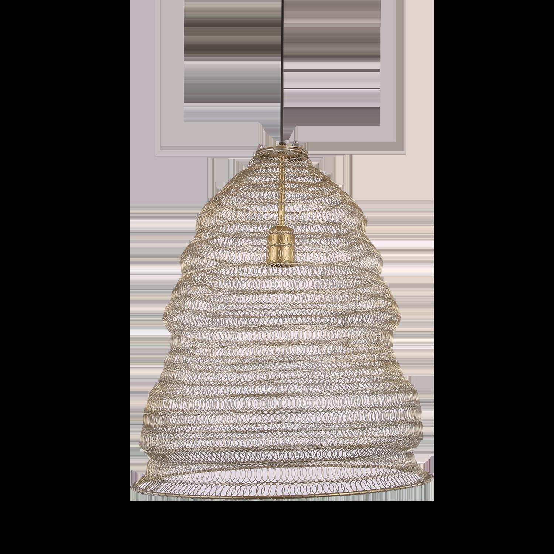 Hanglamp Floriano middel 31453 antiek goud