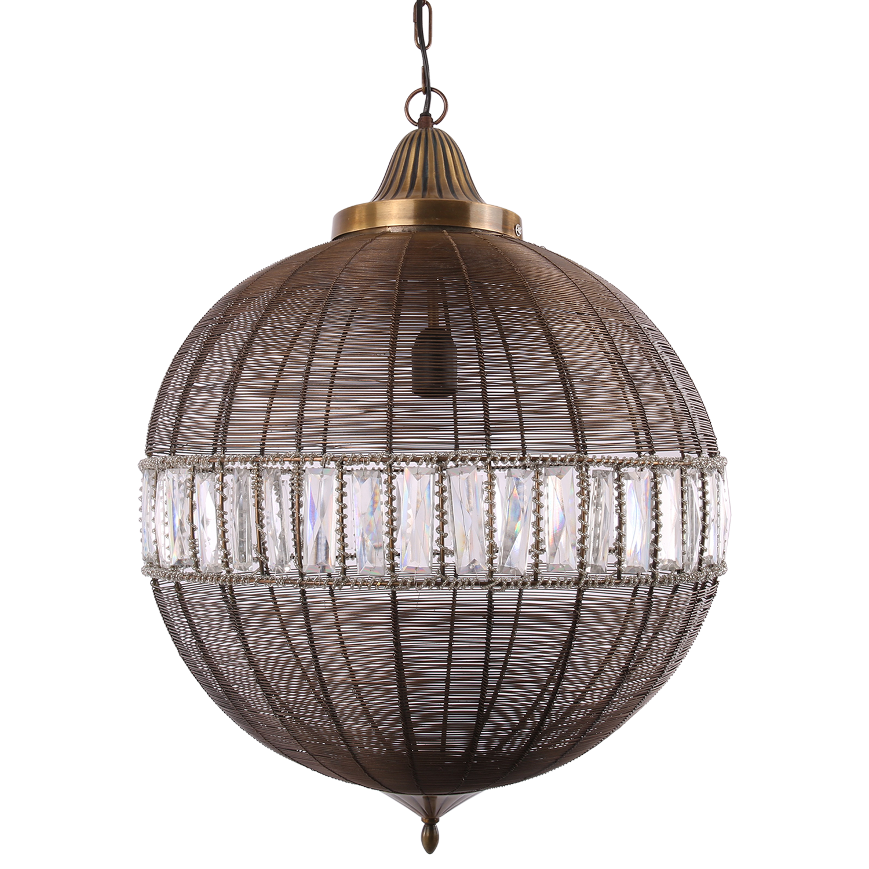 Hanglamp Georgio groot brons