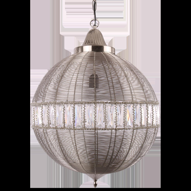 Hanglamp Georgio groot mat chroom
