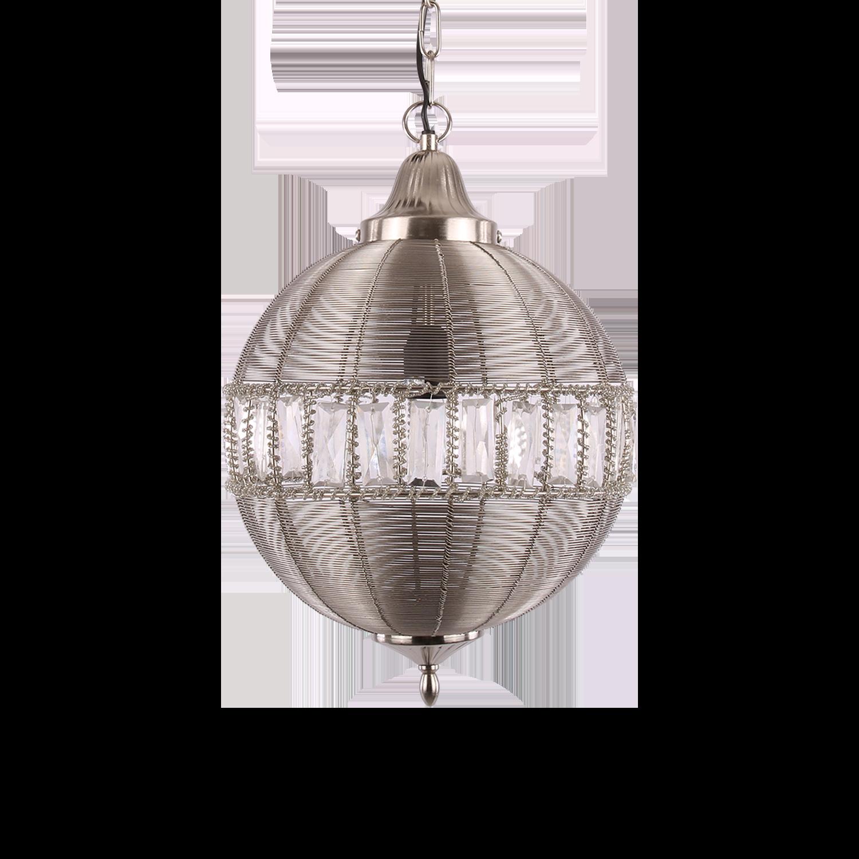 Hanglamp Georgio klein mat chroom