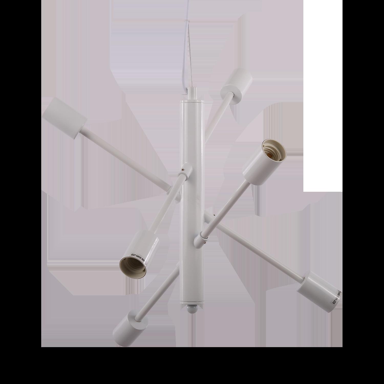 Hanglamp Gotenborg 6 lichts wit