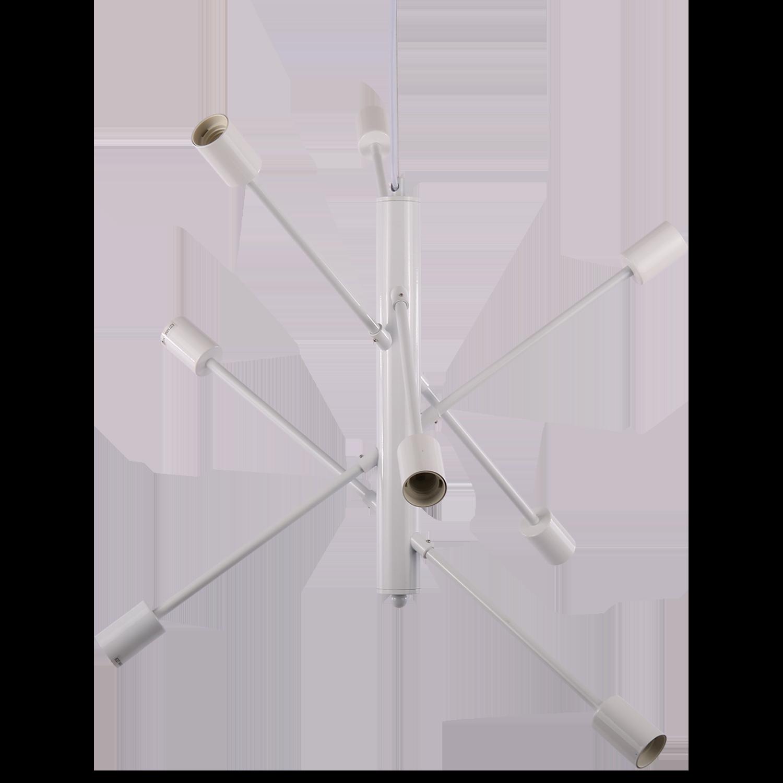 Hanglamp Gotenborg 8 lichts wit