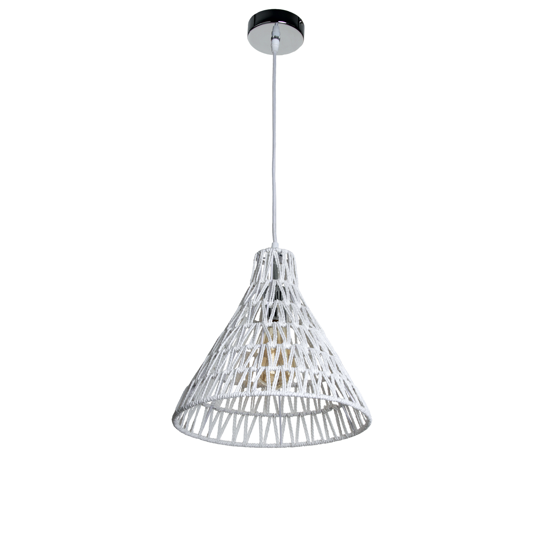 Hanglamp Lauri 30 cm wit