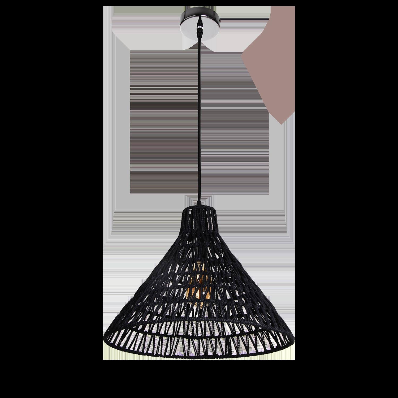 Hanglamp Lauri 40 cm zwart