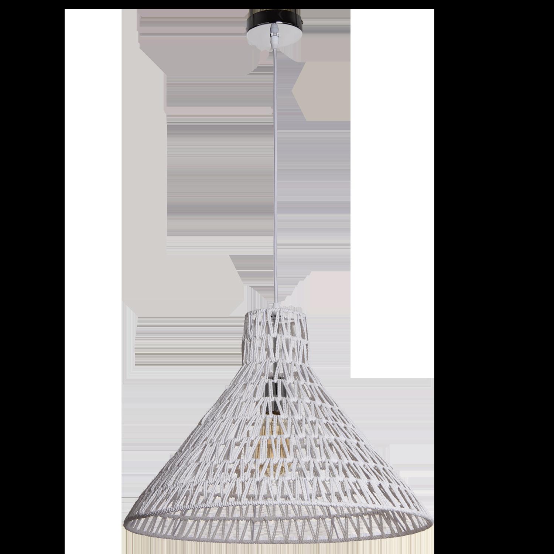 Hanglamp Lauri 50 cm wit