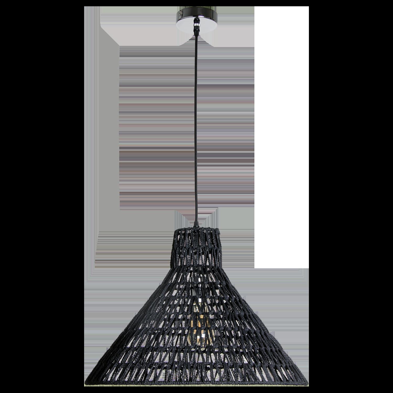 Hanglamp Lauri 50 cm zwart