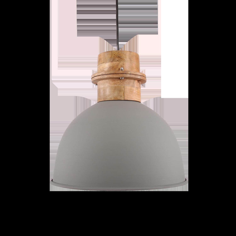 Hanglamp Legno 30 cm mat licht grijs