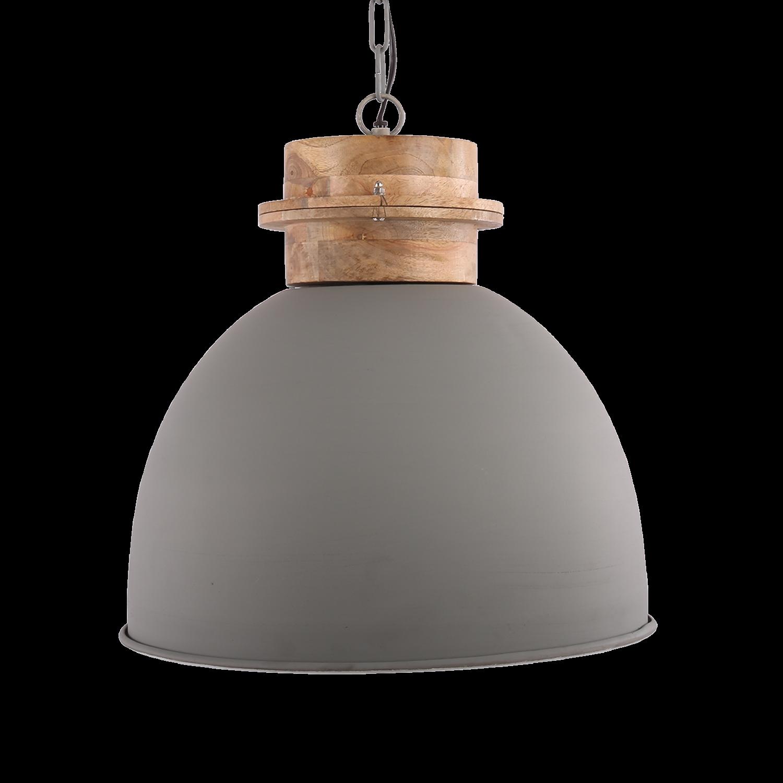 Hanglamp Legno 40 cm mat licht grijs