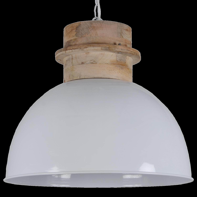 Hanglamp Legno 50 cm glans wit