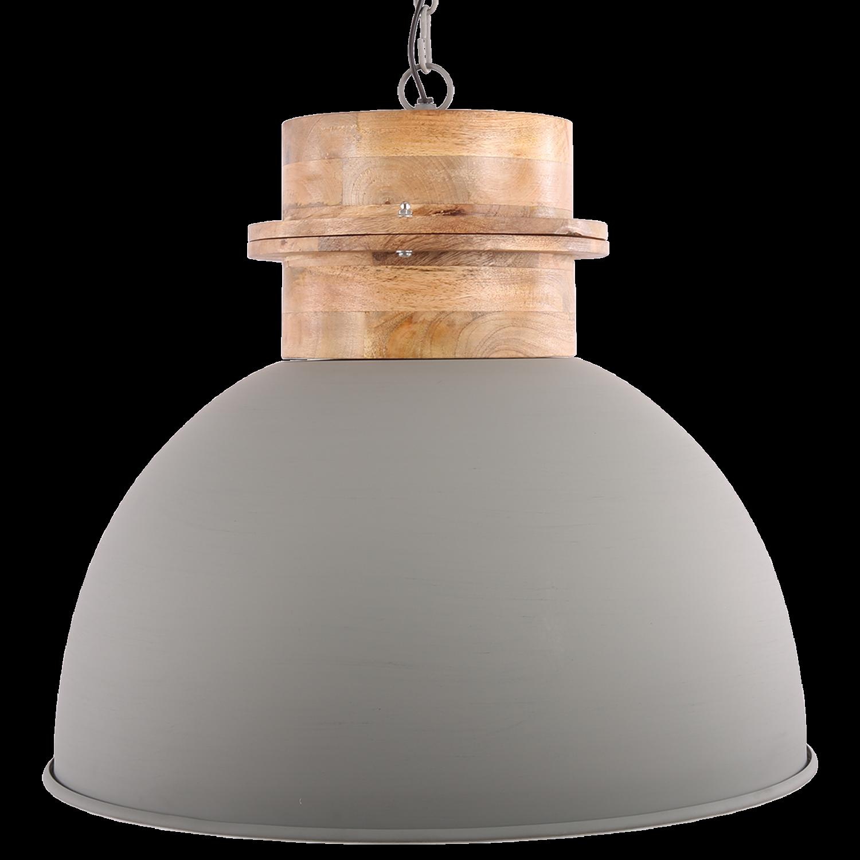 Hanglamp Legno 50 cm mat licht grijs