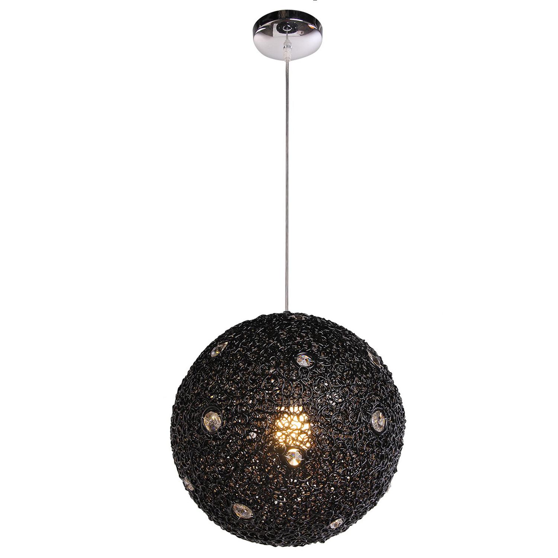 Hanglamp Livorno 30 cm zwart