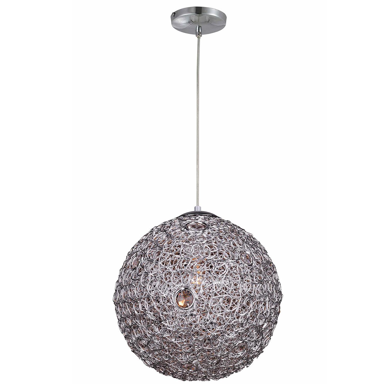 Hanglamp Livorno 40 cm chroom