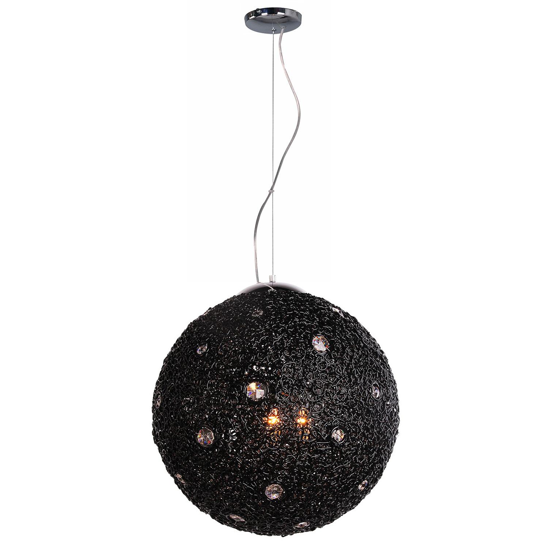 Hanglamp Livorno 50 cm zwart