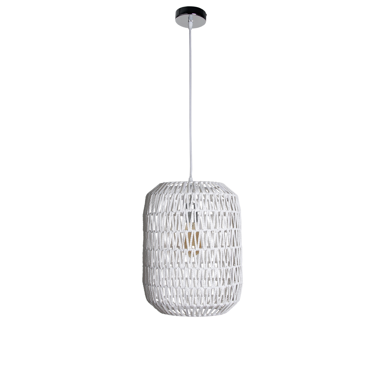 Hanglamp Lori 30 cm wit