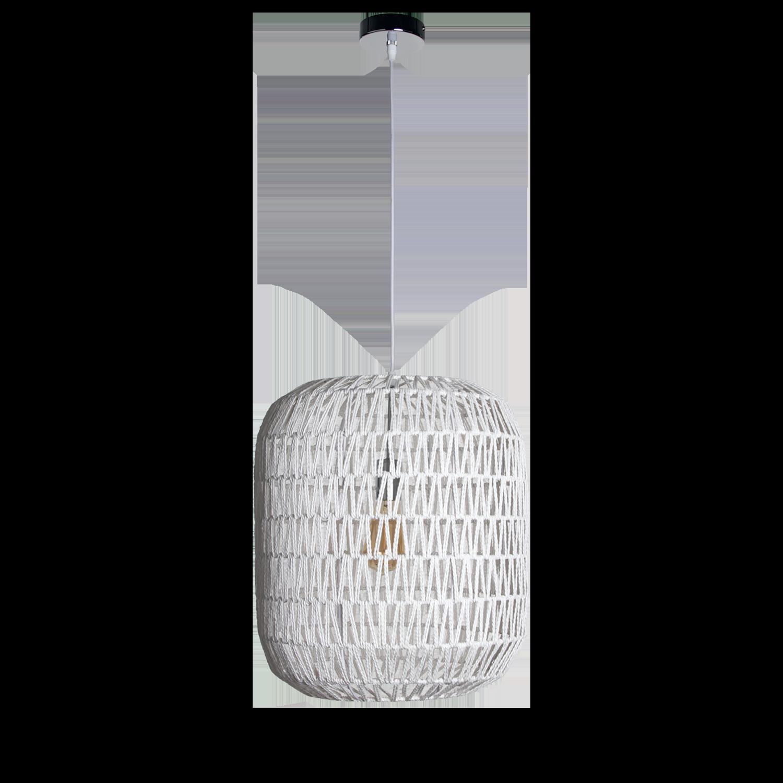 Hanglamp Lori 40 cm wit