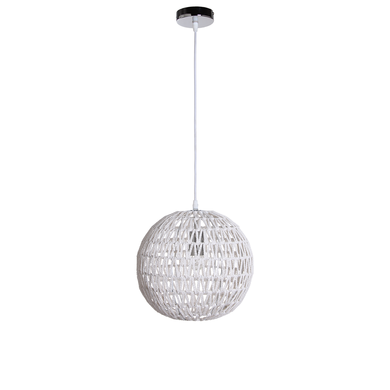 Hanglamp Luca Ø30 cm wit