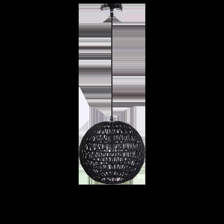 Hanglamp Luca Ø30 cm zwart