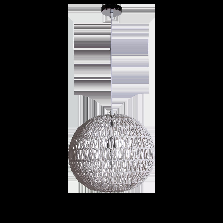Hanglamp Luca Ø40 cm wit