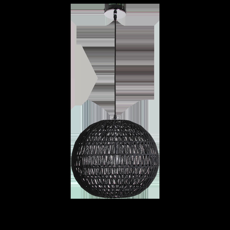 Hanglamp Luca Ø40 cm zwart