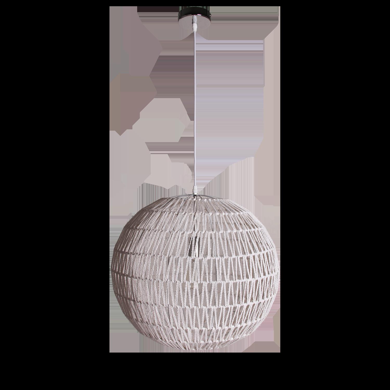 Hanglamp Luca Ø50 cm wit