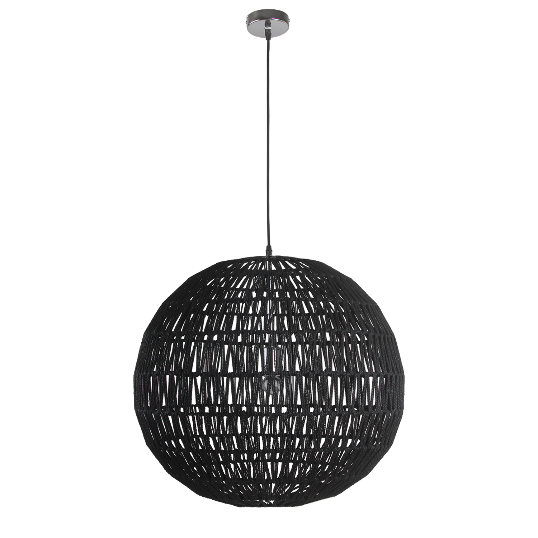 Hanglamp Luca Ø60 cm zwart