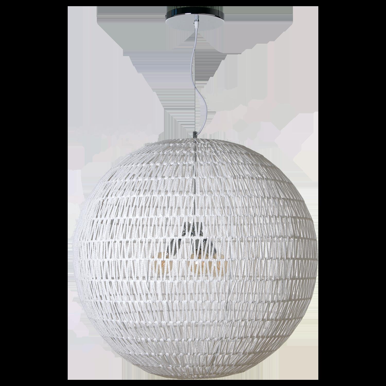 Hanglamp Luca Ø80 cm wit