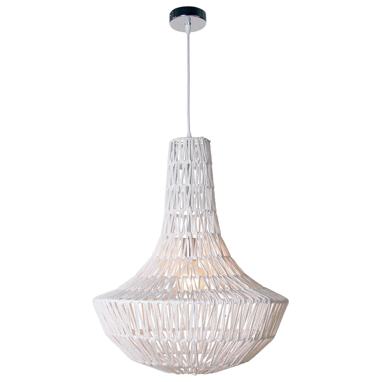 Hanglamp Luca classic 50 cm wit