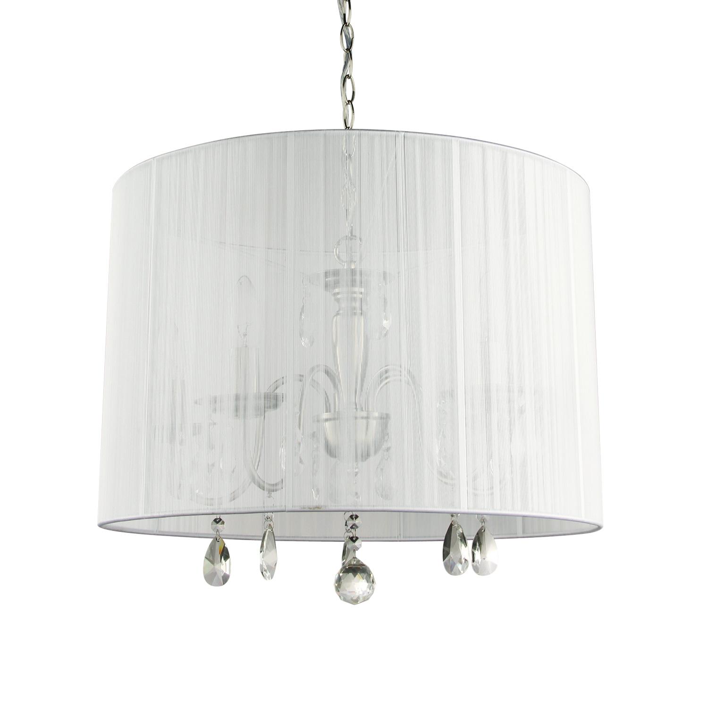 Hanglamp Merel 5 lichts + witte kap
