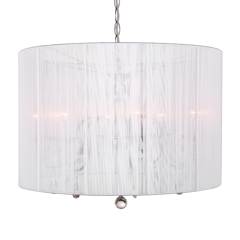 Hanglamp Merel 8 lichts + witte kap