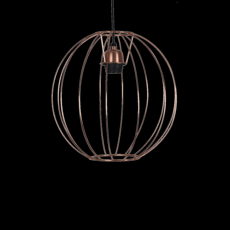 Hanglamp Spirelli klein Ø30 cm copper