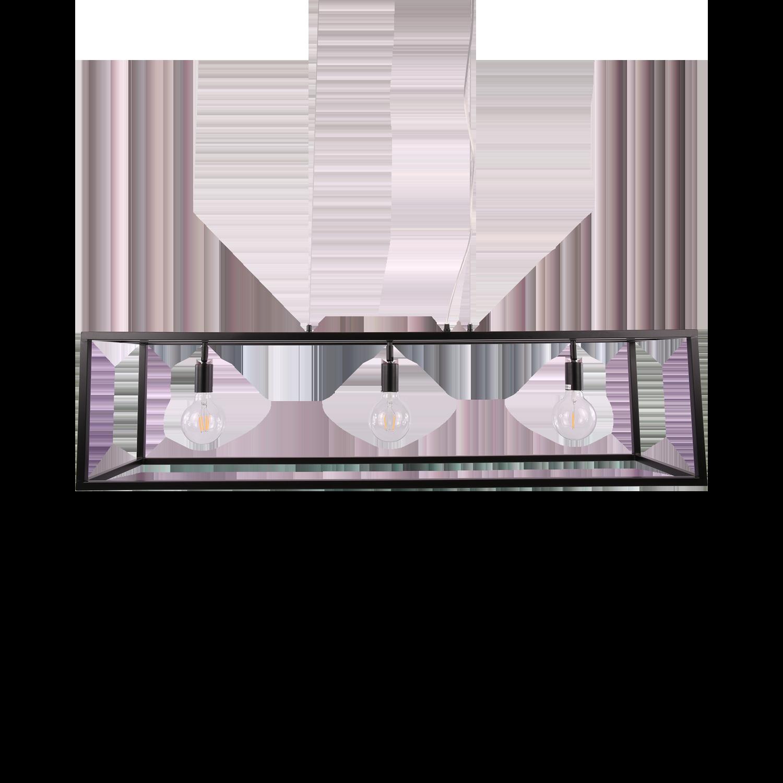 Hanglamp Sven 3 lichts mat zwart