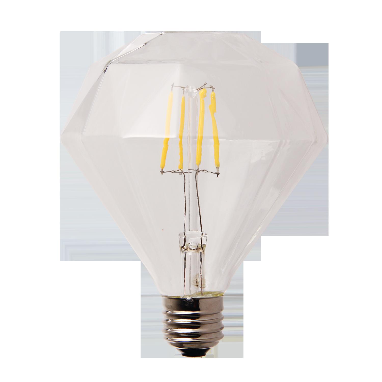 LED lamp filament diamond large 2W