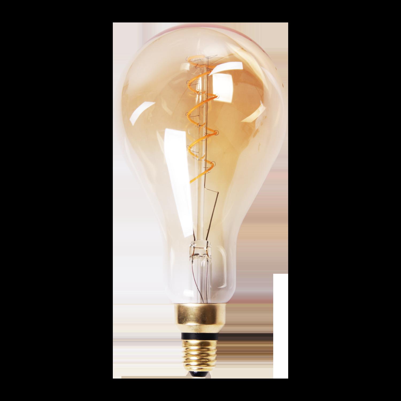 LED lamp filament druppel spiraal middel Ø13 cm
