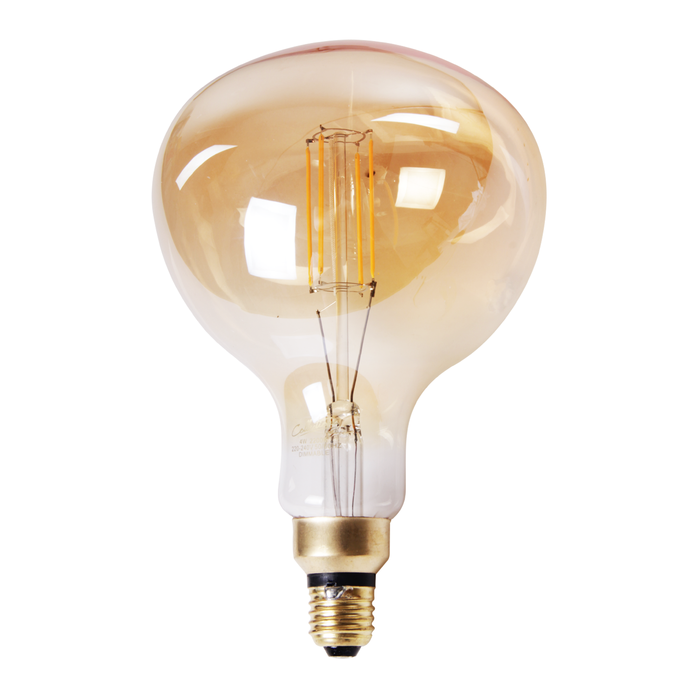 LED lamp filament peer recht middel Ø16 cm