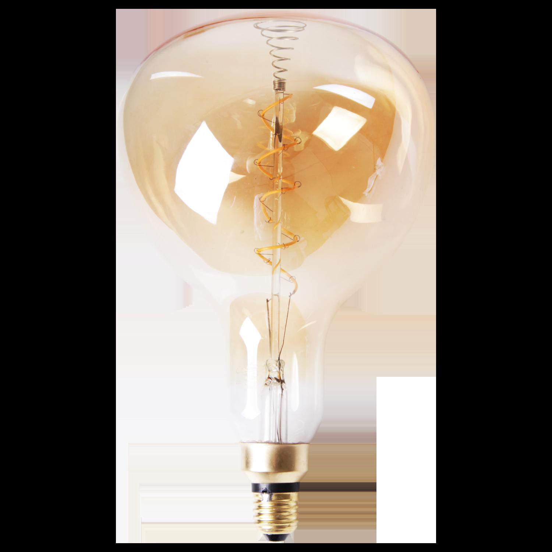 LED lamp filament peer spiraal groot Ø18 cm